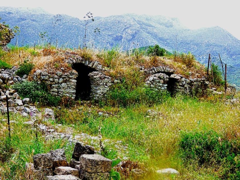 ruins, Karytaina castle III