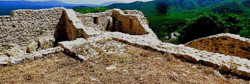 ruins, Karytaina castle IV