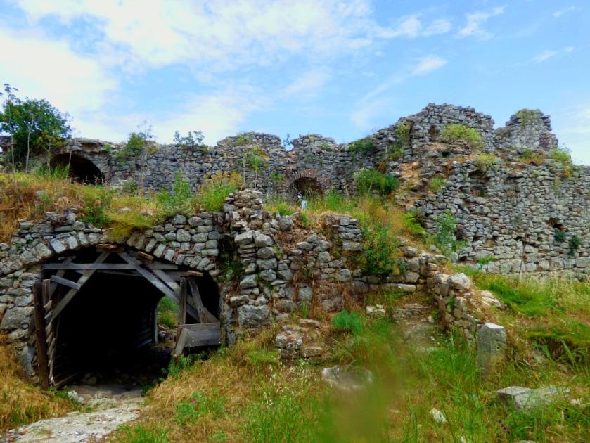 ruins, Karytaina castle