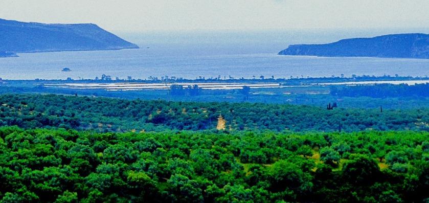 Sea view from Nestor's palace III