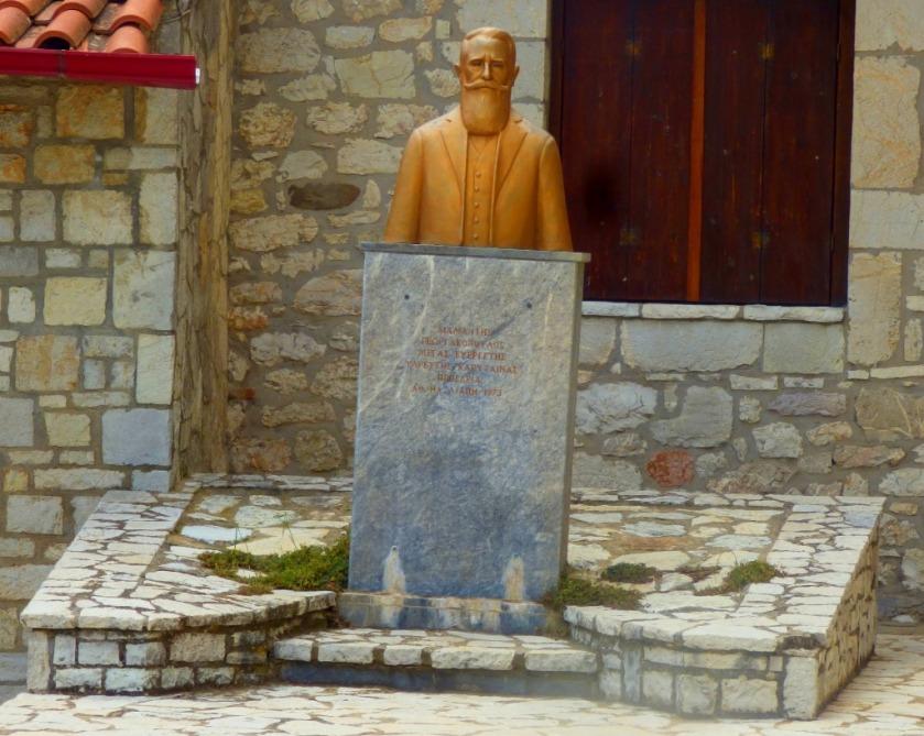 Statue in Karytaina