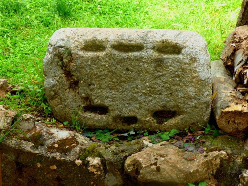 stone with holes in