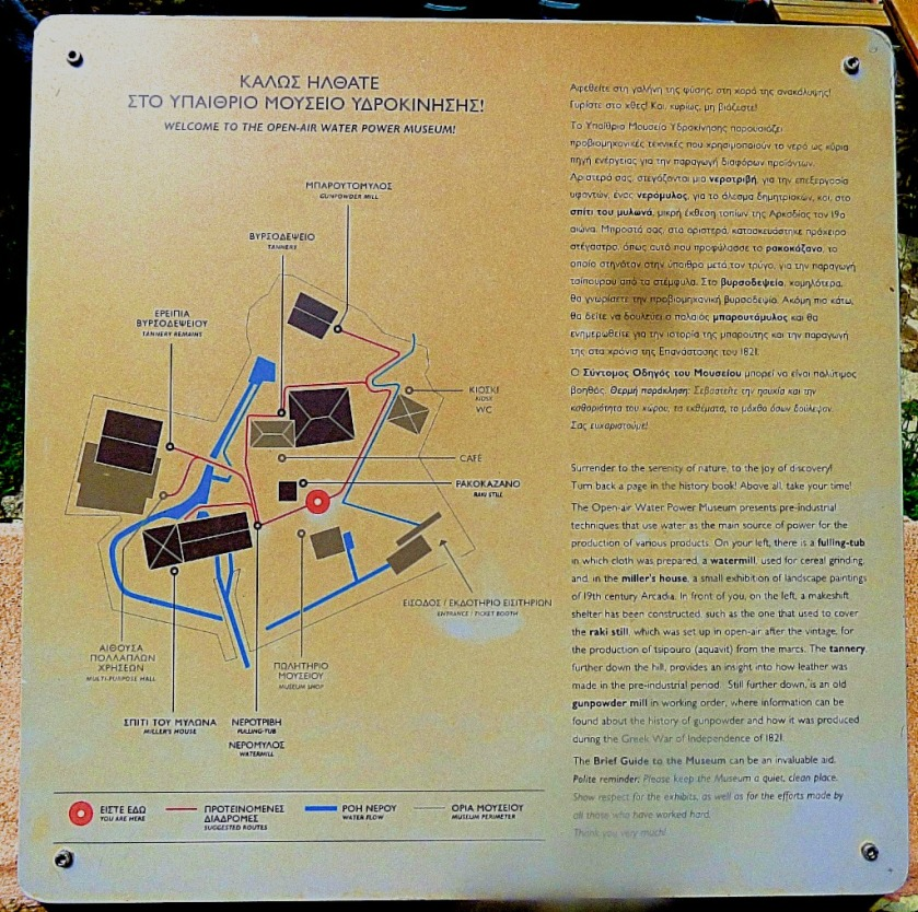 Water power museum map