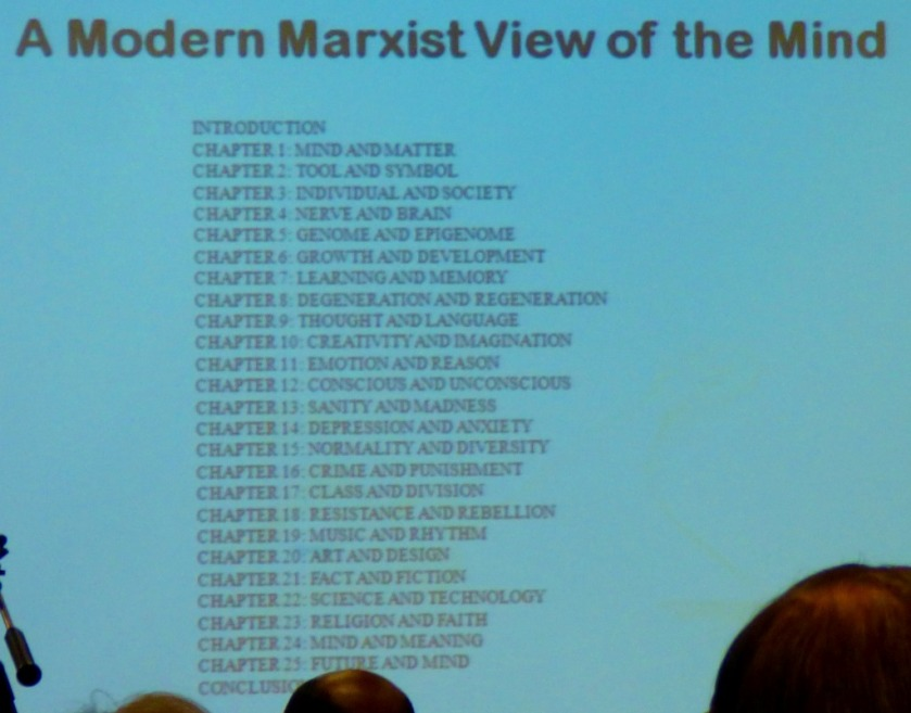 A modern Marxist view of the mind