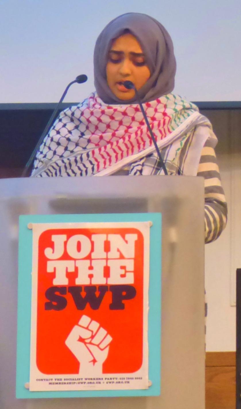 A Muslim speaker