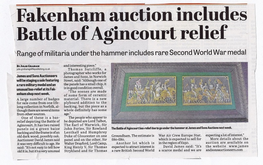 Agincourt Article