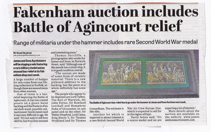 Agincourt Article