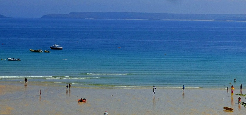 Beach scene St Ives