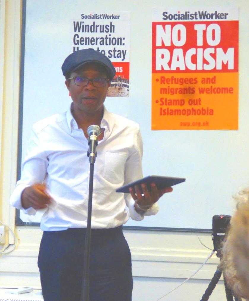 Brian Richardson speaking