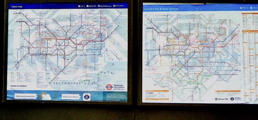 Double map, Kings Cross