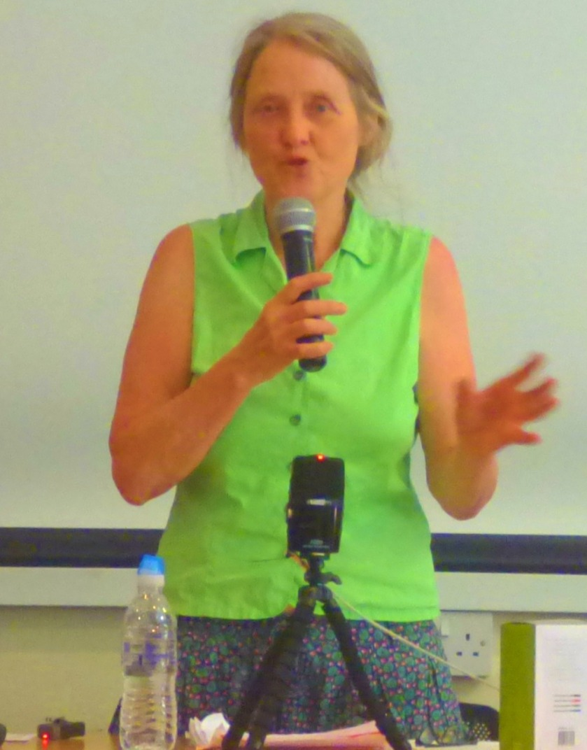 Eileen Short speaking