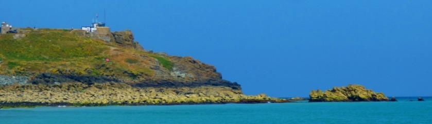 Headland and rocks