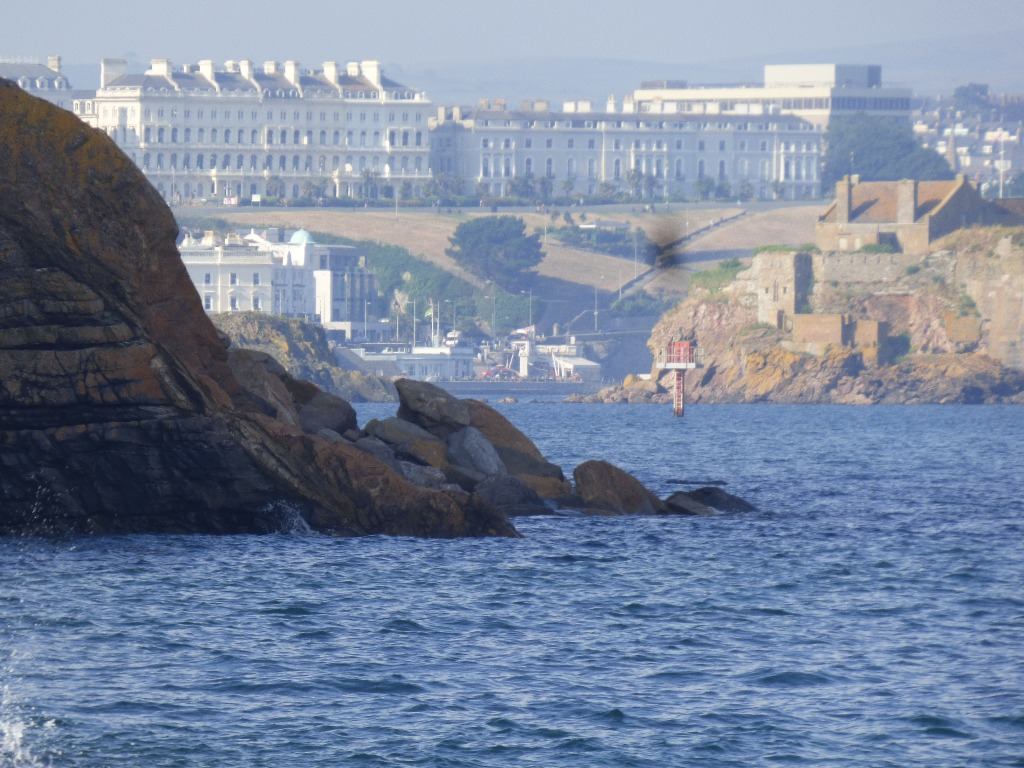 Looking towards The Hoe