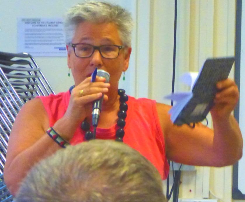 Mary speaking