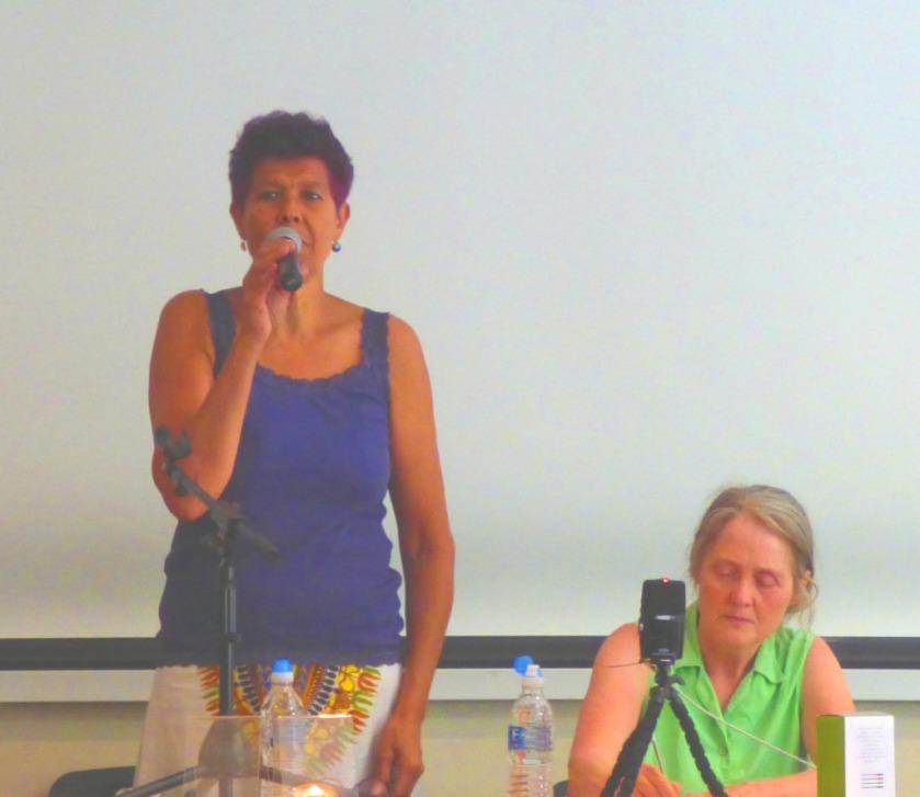 Moyra introducing the meeting