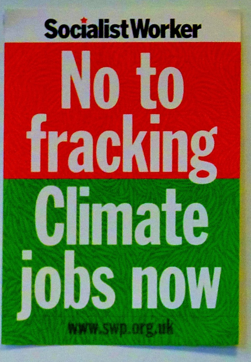 No To Fracking