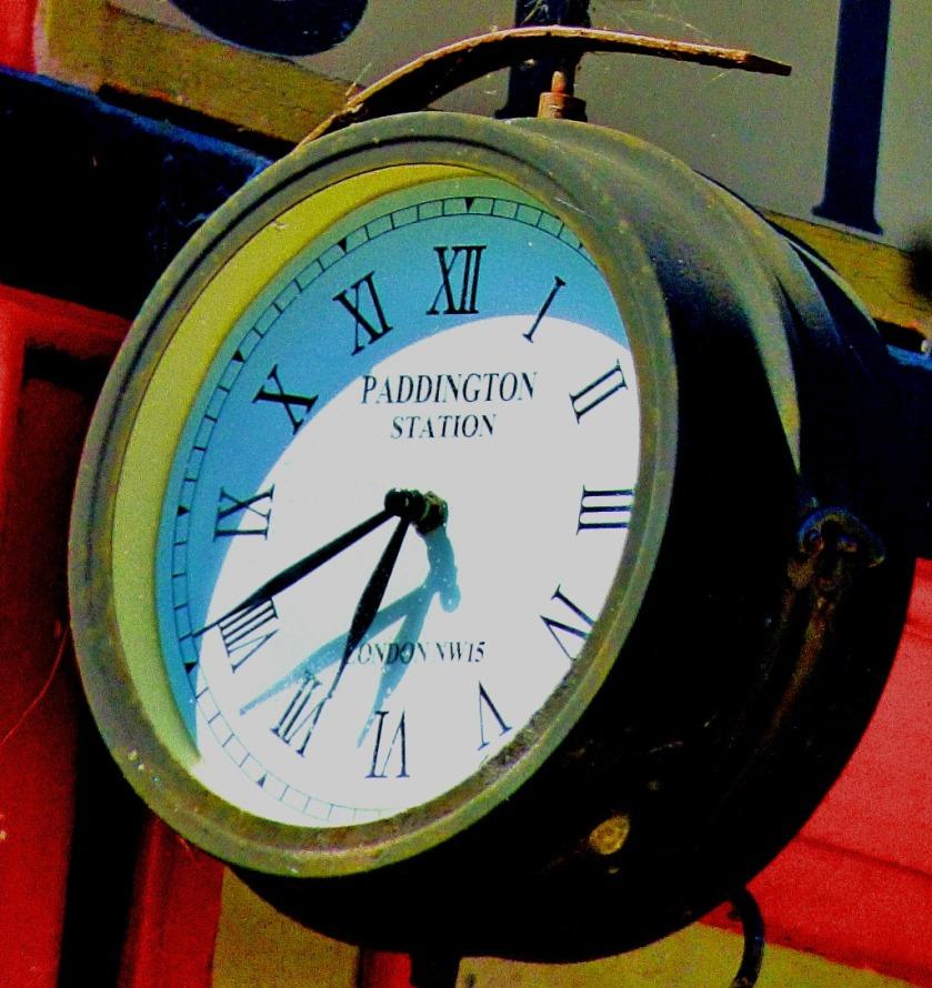 Old GWR clock