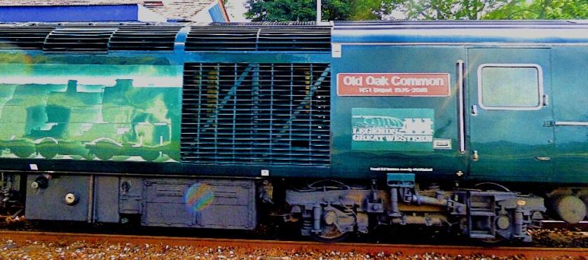 Old Oak Common loco