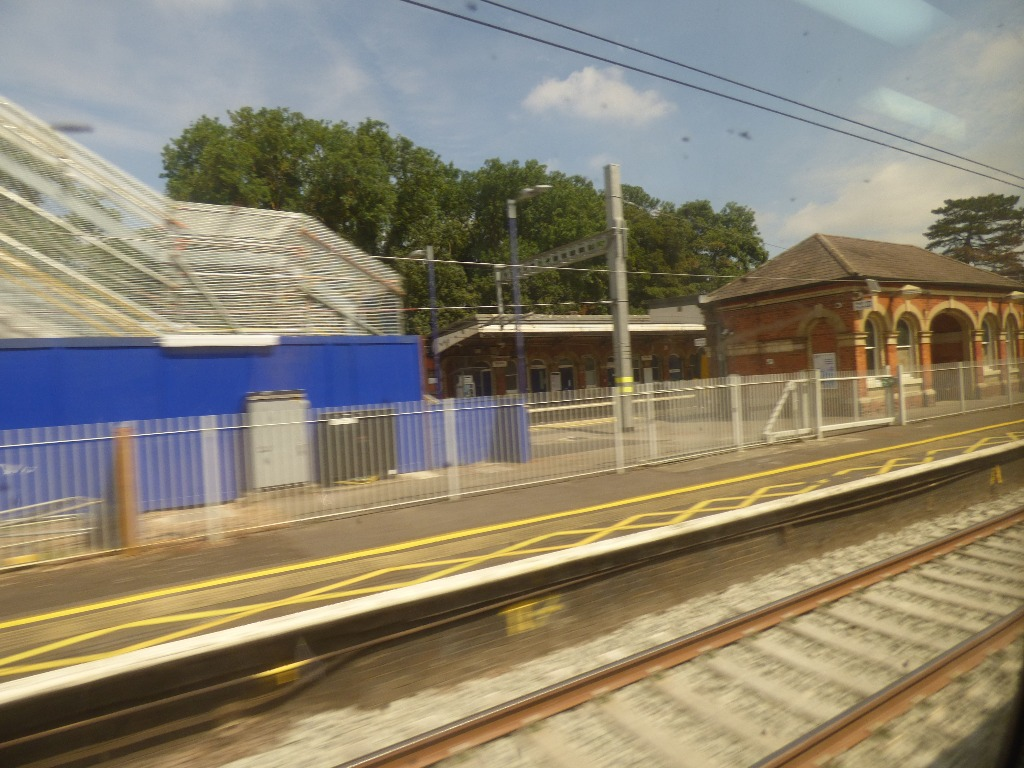 Passing a station