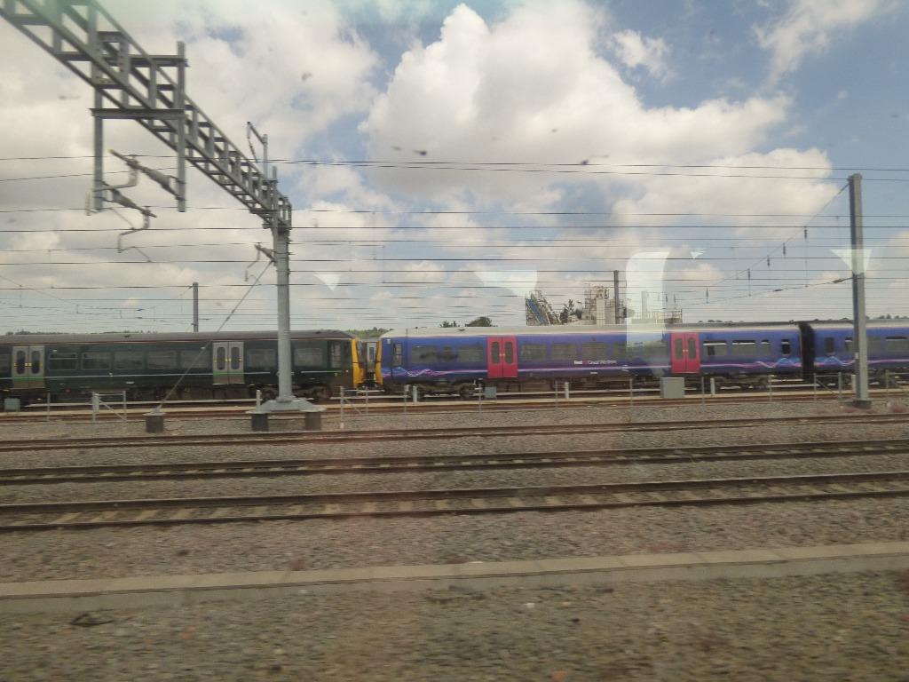 Passing a train II