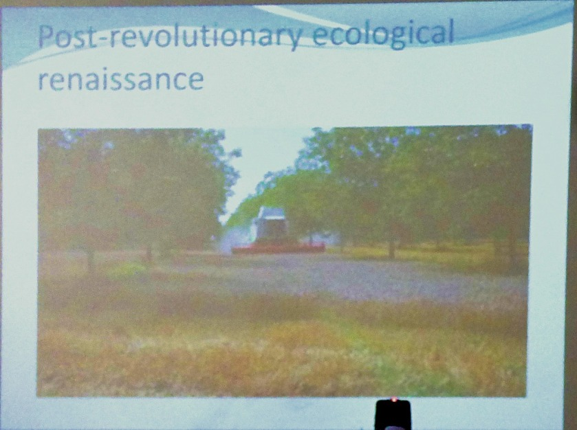 post-revolutionary ecological renaissance