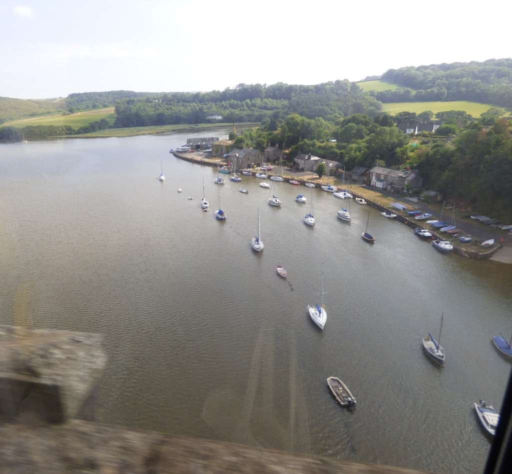 river with boats