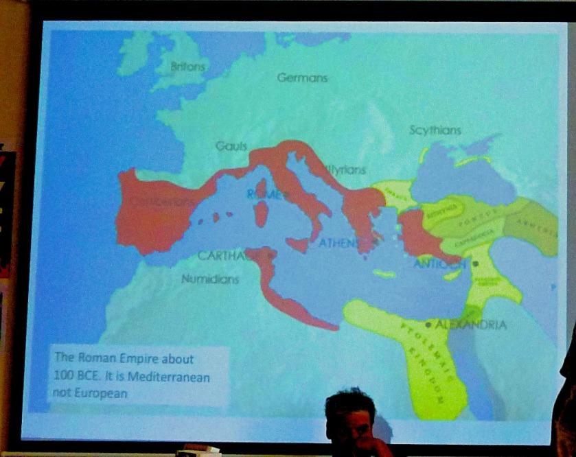 Roman Empire 100 BCE