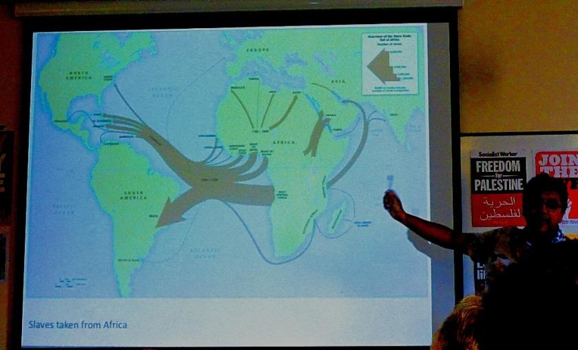 Slave trade routes