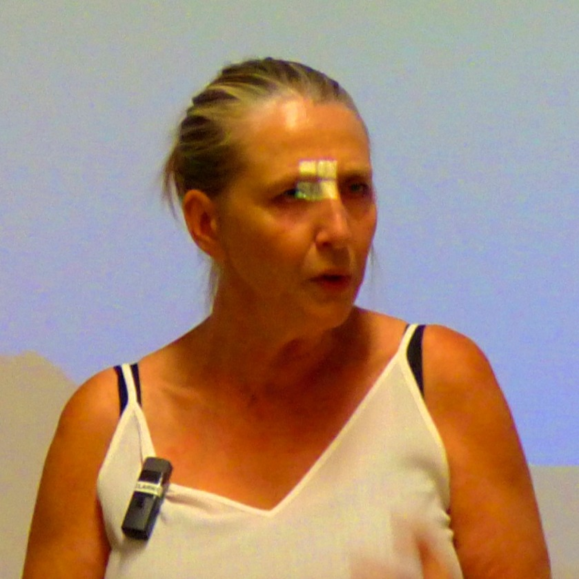 Suzanne Jeffery speaking