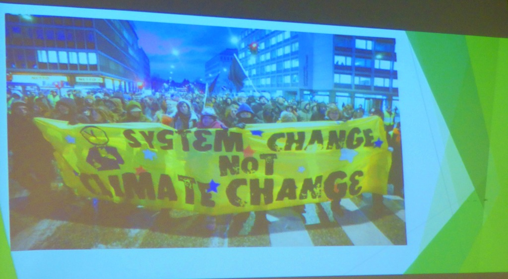 Marxism 2018: Martin Empson on Climate Change