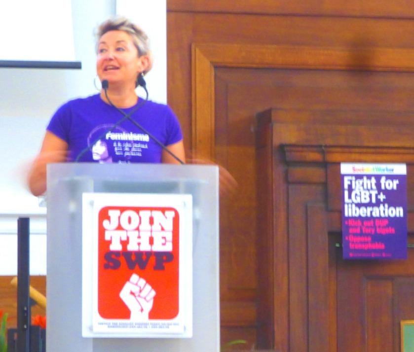 Tina McVeigh speaks