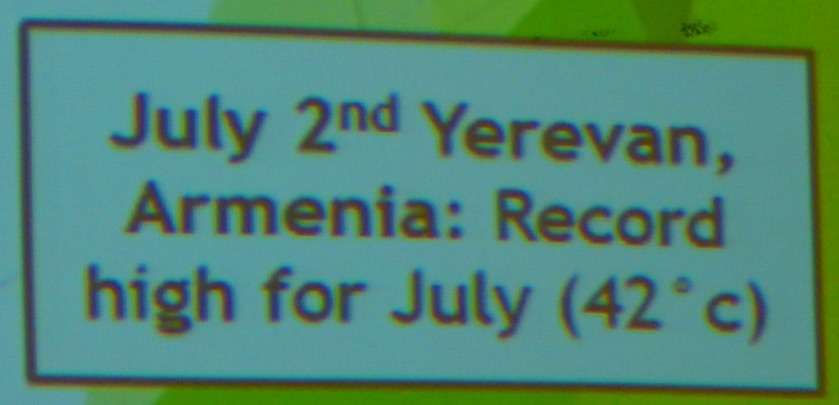 Yerevan record