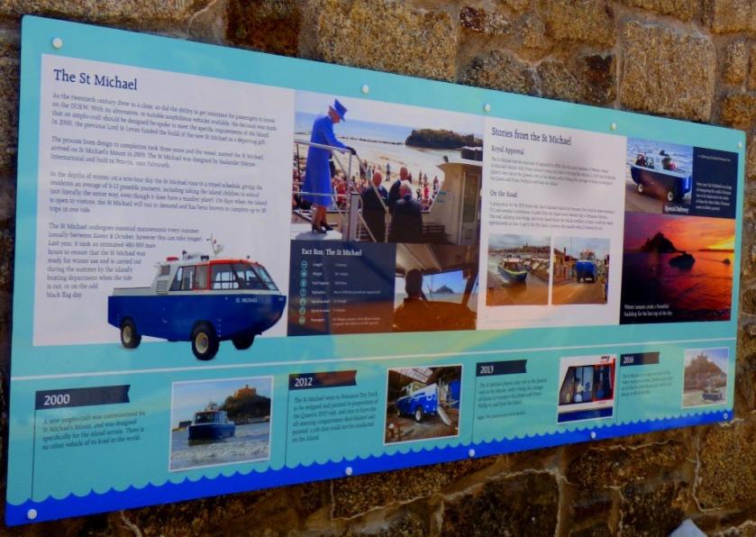Boat info board