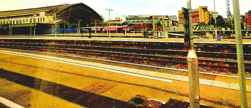 Bristol with trains