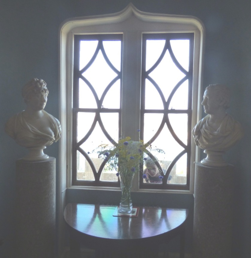 busts and window