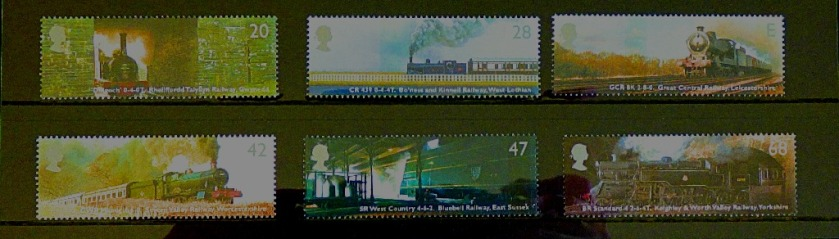 Classic Lcomotives stamps II