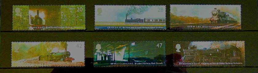 Classic Lcomotives stamps II