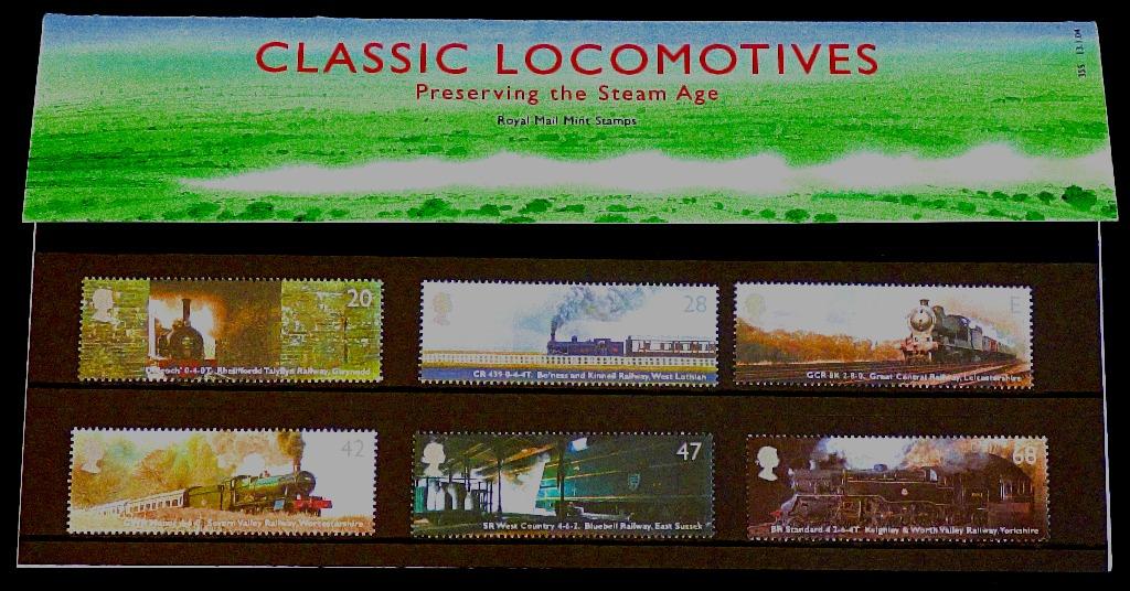 Classic Locomotives FDC