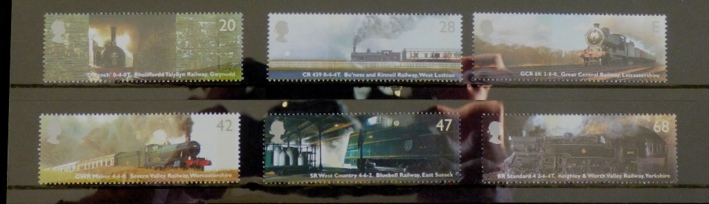 Classic Locomotives stamps I