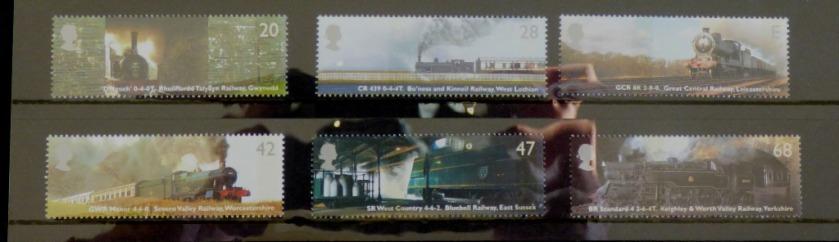 Classic Locomotives stamps I