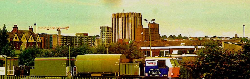 Cleaning Britain's Railways