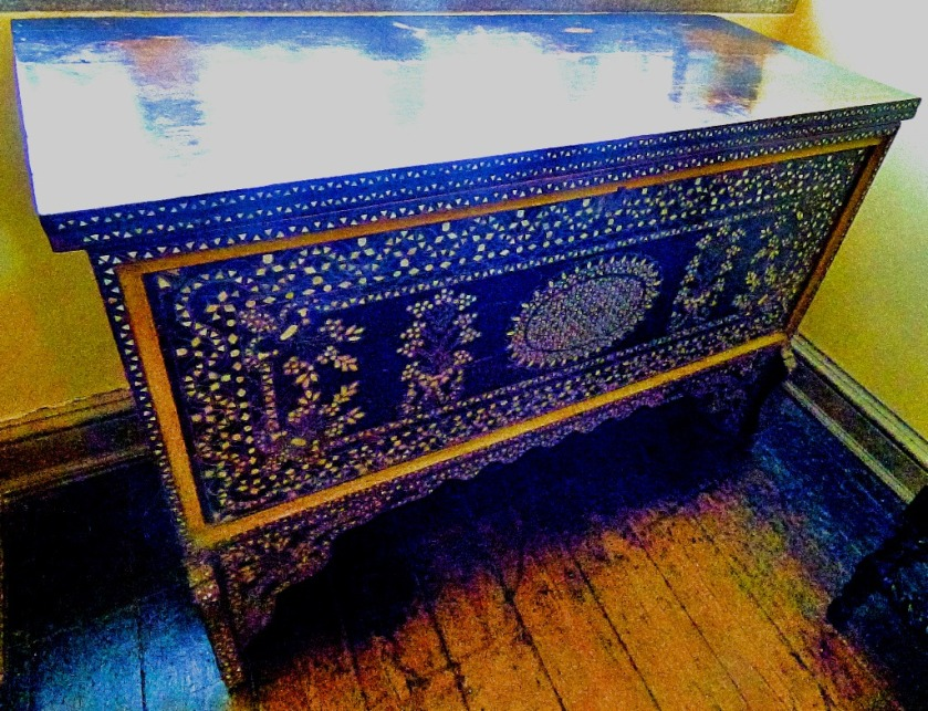 decorated chest