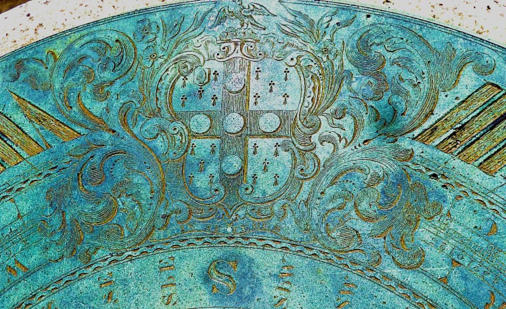 Detail from sundial