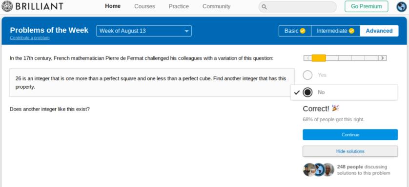 Fermat answer