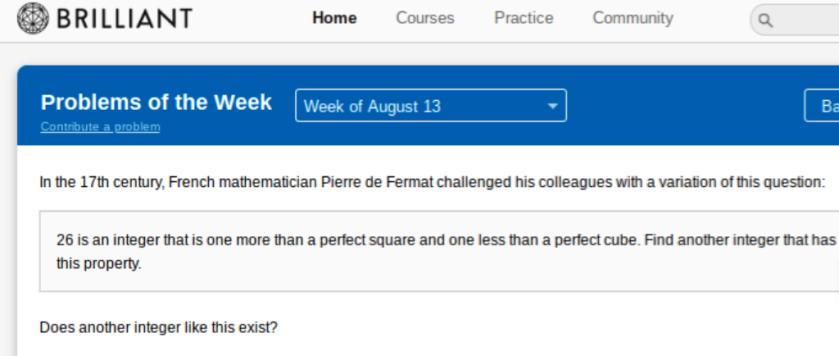 Fermat Challenge