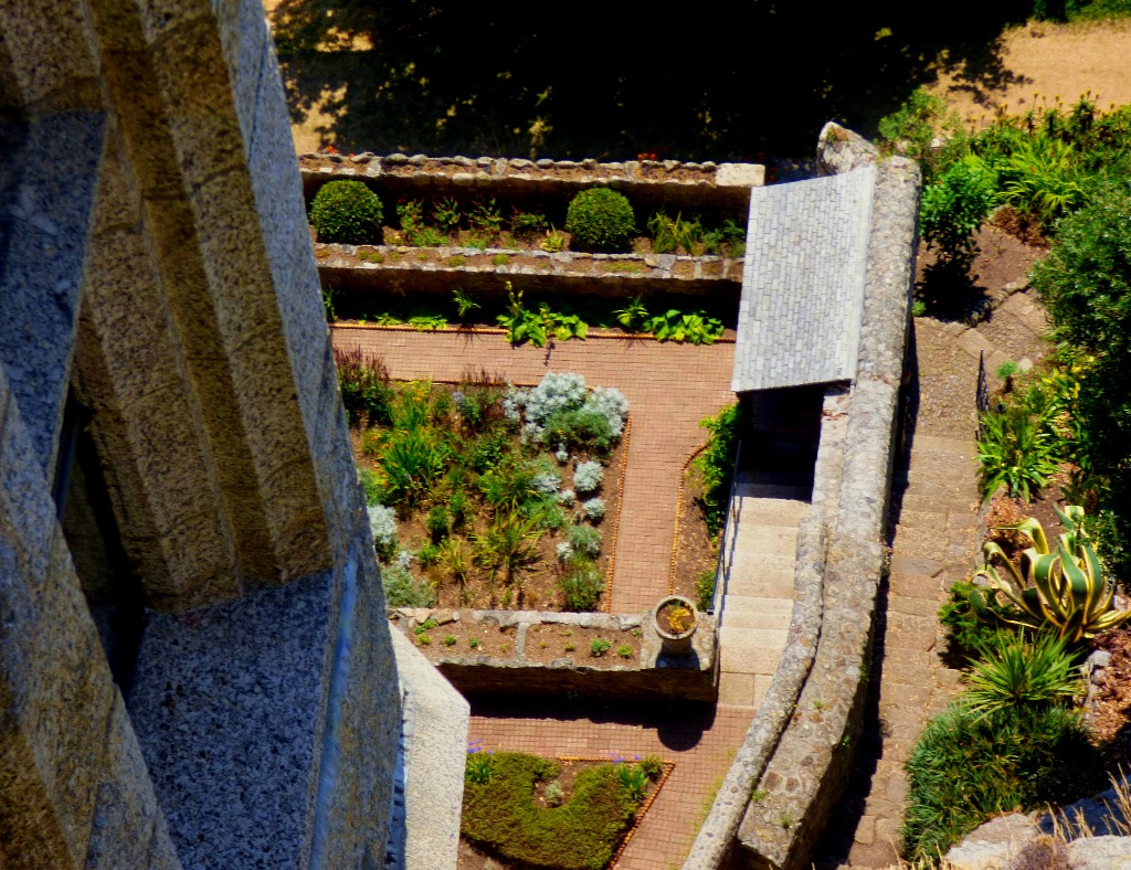 Garden from above II