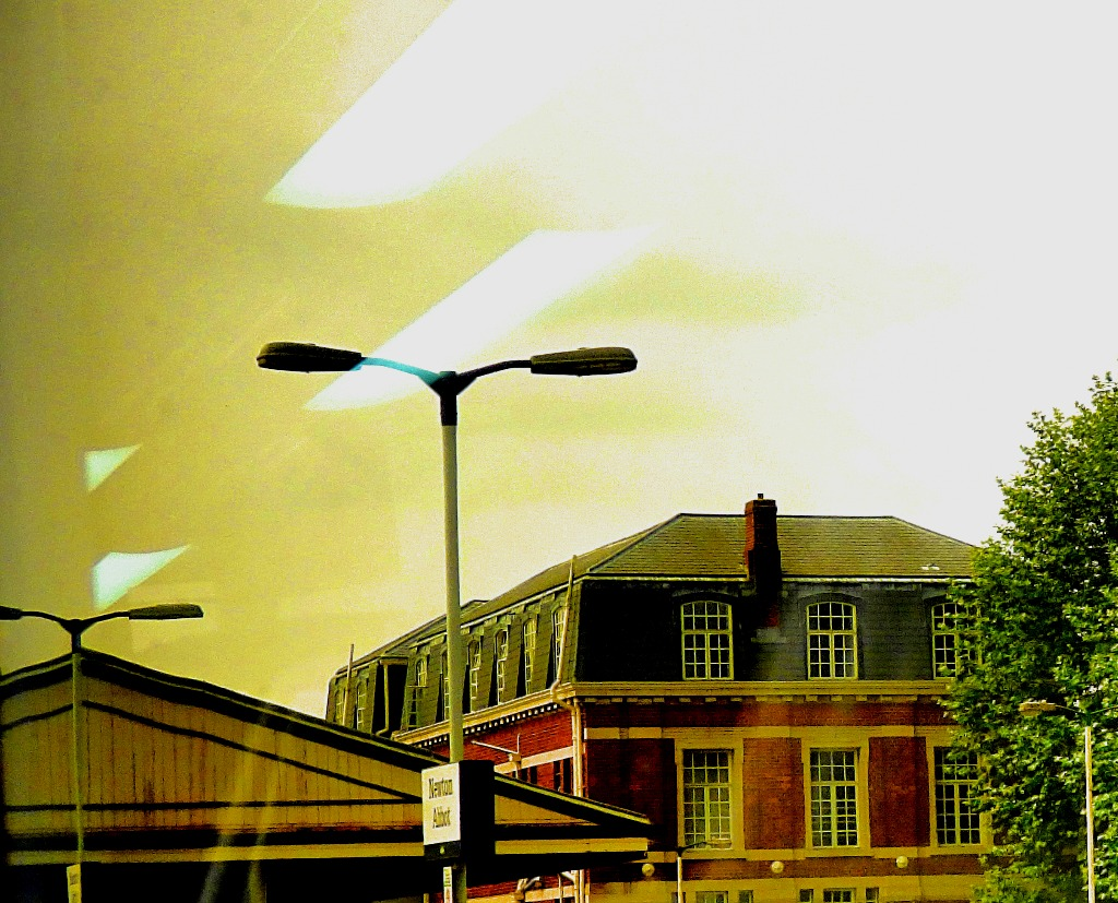 Newton Abbot canopy and big building