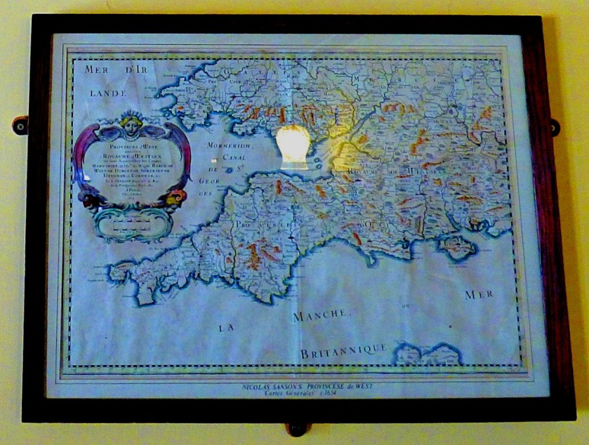 Nicolas Sansons West of England Map