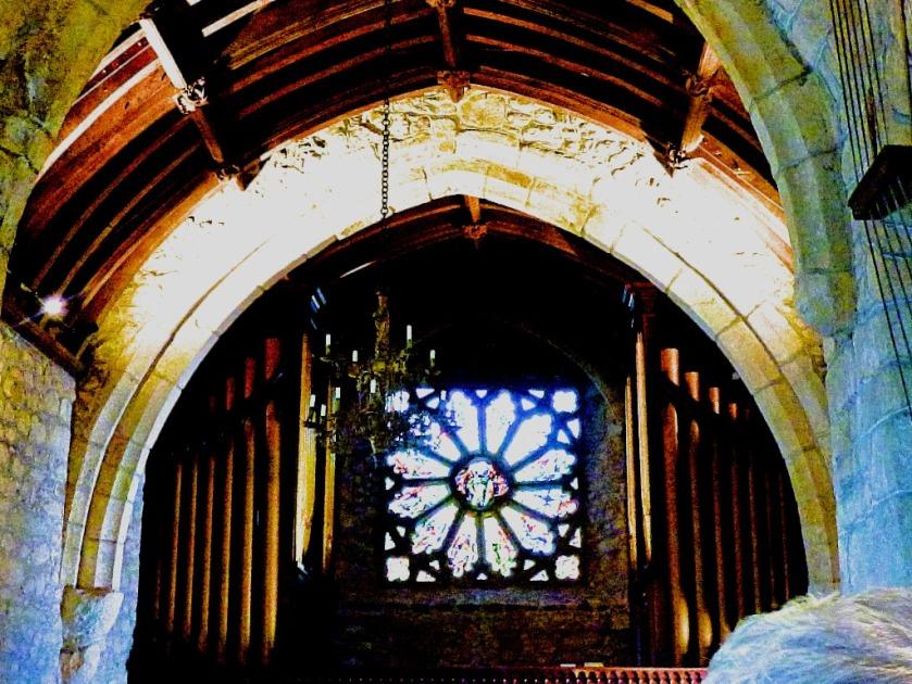 Organ and window