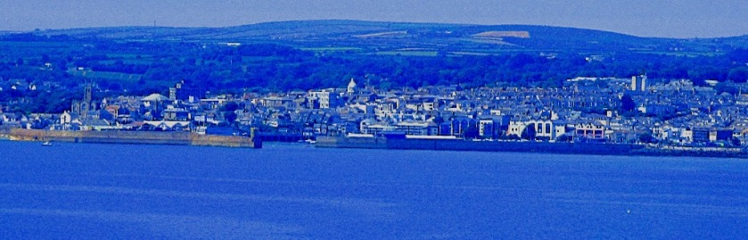 Penzance from St Michael's Mount